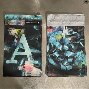 """40 Anthropologie Poly Mailers, 10"""" x 13"""""""
